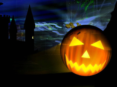 3d Happy Halloween Wallpaper