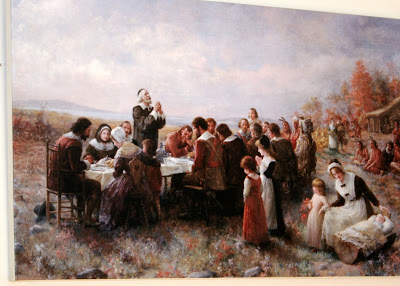 The First Thanksgiving Cards