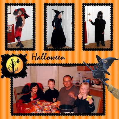 Halloween Family Photo Card