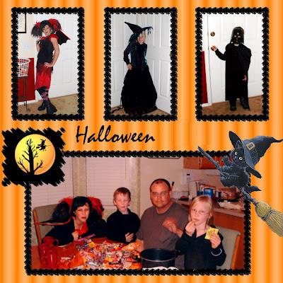 Halloween Family Photo Card