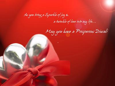 Romantic Diwali Cards