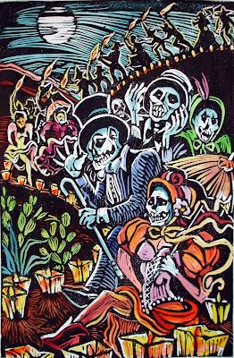 Dia de la Muerta Cards