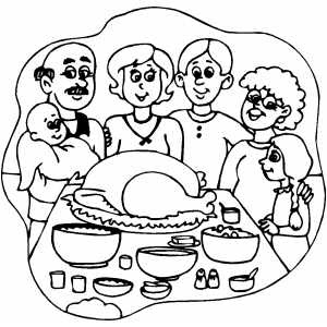 Thanksgiving Coloring Pages - Coloring Book