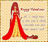 Cute Girl Valentine Day