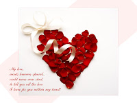 Heart Valentine's Day Saying