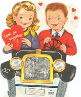 vintage cards for valentine