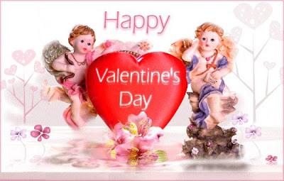 Happy Valentine's Day Postcard