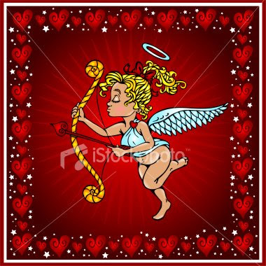 Valentine Card Cupid Greeting Cards