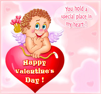 Valentine's Love Cupid Card