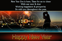 happy new year wish card