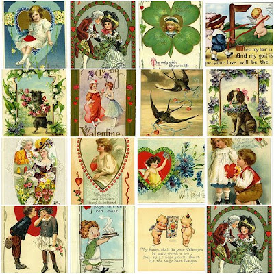 antique valentine collection