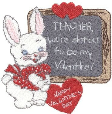 Teacher Valentine's Cards