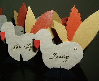 Place Cards for Thanksgiving