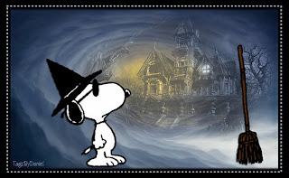 Snoopy Halloween Wallpaper