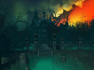 Haunted House 3d Wallpaper