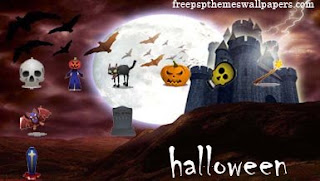 Free Halloween PSP Wallpapers