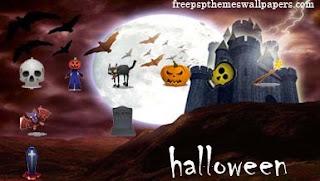 Free Halloween PSP Wallpapers