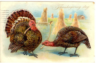 Antique Vintage Thanksgiving Postcards