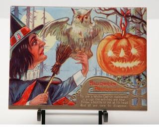 Antique Halloween Postcards