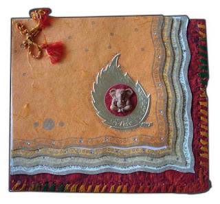Handmade Diwali Cards, Handmade Deepavali Greetings