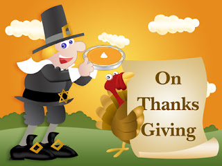 Thanksgiving Pilgrim Greeting Cards