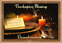 Thanksgiving Blessing Cards