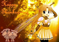 anime cartoon thanksgiving wallpaper