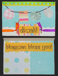 Handmade Happy Diwali Card
