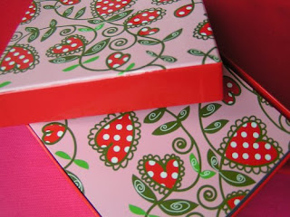 Box Craft for Valentines Cards