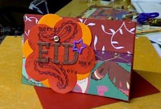 Handmade Eid Cards