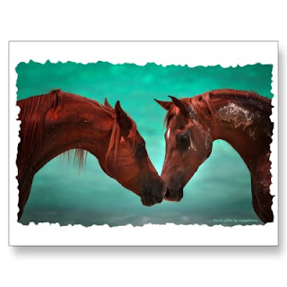 horse love cards