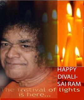 Sai Baba Diwali Cards