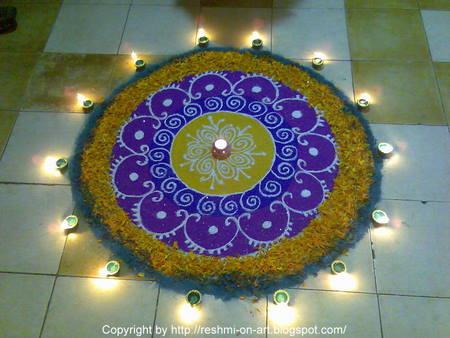 Diwali Wallpapers Diwali Flower Rangoli Wallpapers Floral Rangoli Designs