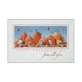 thanksgiving wishes with pumpkins