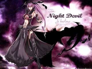 free night devil wallpaper