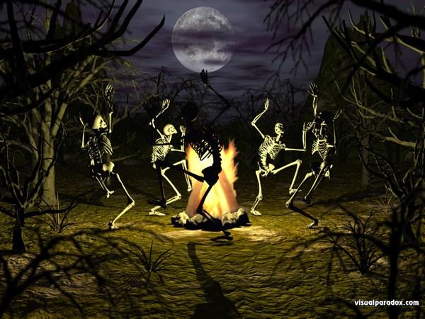 Dancing Skeletons Wallpapers