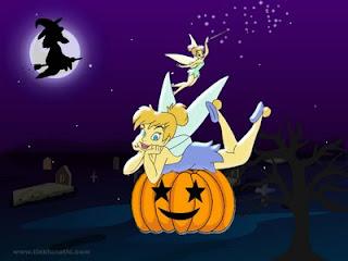 Tinkerbell Halloween Cards