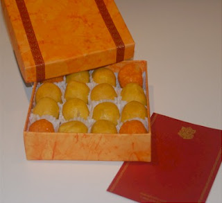 Diwali Cards with Mithai