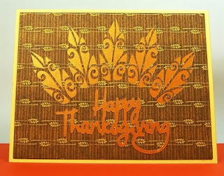 Floral Thanksgiving Design Cards