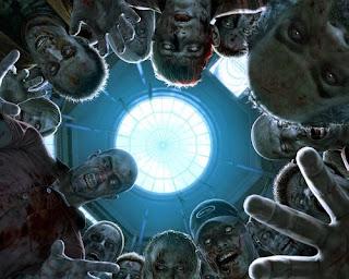 dark zombie wallpaper for halloween
