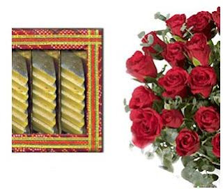 deepawali rose cards