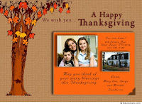 customized thanksgiving greetings
