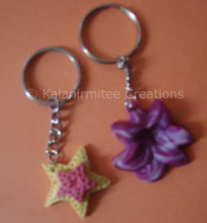 kalanirmitee: lamasa clay craft-key chains