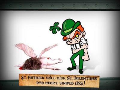St. Patrick will kick St. Valentines
