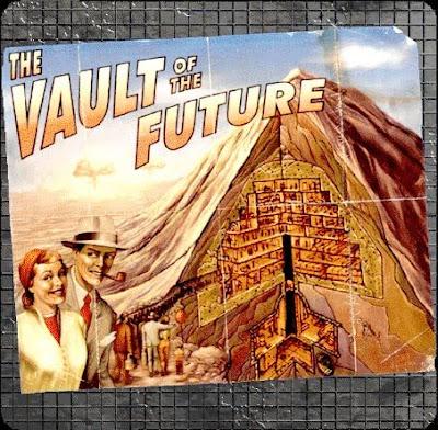 The Vault of The Future – Рекламный плакат Убежища 13