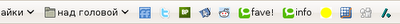 Панель закладок – иконки букмарклетов