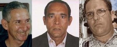 Adolfo Fernández Sainz, Pedro Argüelles Morán y Antonio Ramón Díaz Sánchez