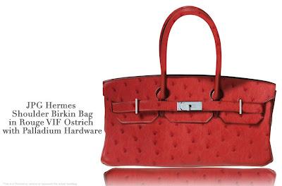 hermes leather handbags - JPG Hermes Shoulder Birkin Bag in Rouge VIF Ostrich | Cr��ateurs de ...