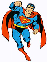 la abuelita les apunta a otro ser más poderoso: Jesucristo Super_man