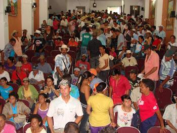 Encuentro de mineros y mineras en Ituango
